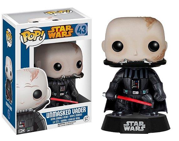 Funko Pop Star Wars 43 Unmasked Darth Vader