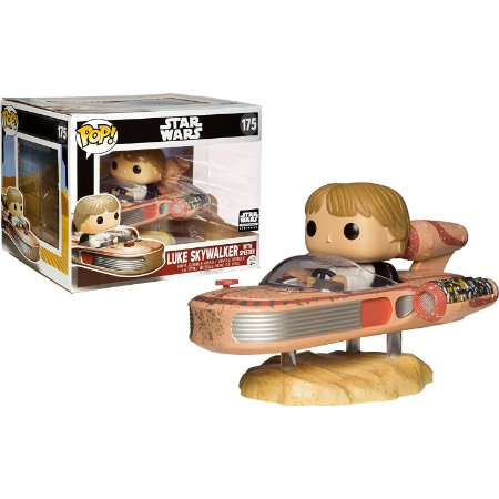 Funko Pop Star Wars 175 Luke Skywalker with Speeder