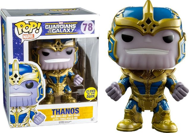 Funko Pop Guardians of the Galaxy 78 Thanos Glow in the Dark