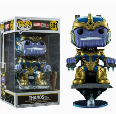 Funko Pop Marvel 331 Thanos on Throne Exclusive