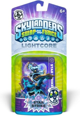 Skylanders Swap Lightcore Star Strike