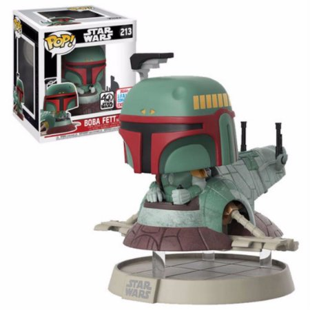 Funko Pop Star Wars 213 Boba Fett w/ Slave One