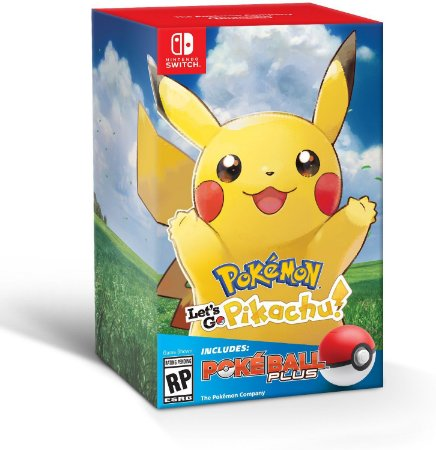 Pokemon Let's Go Pikachu + Poke Ball Plus - Switch
