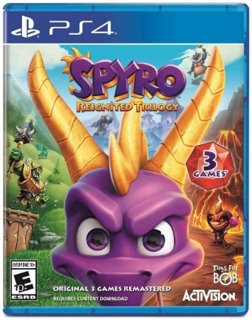 Spyro Reignited Trilogy - PS4