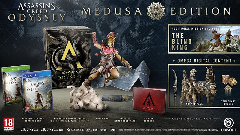 Assassins Creed Odyssey Medusa Edition - PS4