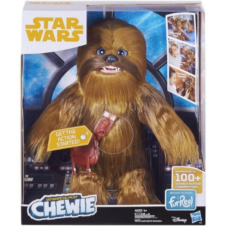 Star Wars Ultimate Co-pilot Chewie Interativo
