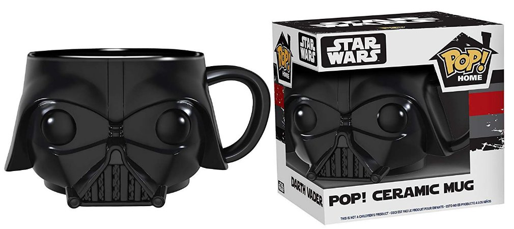 Funko Pop Caneca Star Wars Darth Vader Mug
