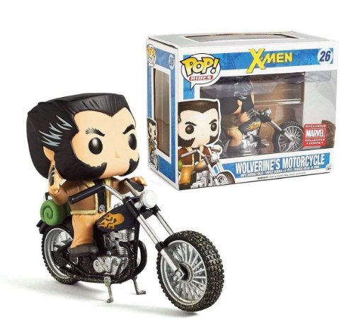 Funko Pop X-men 26 Wolverine's Motorcycle Exclusive