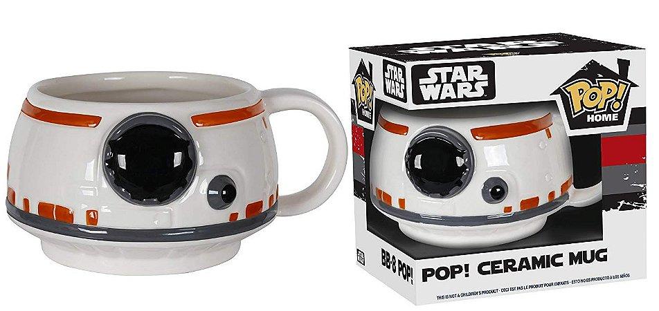 Funko Pop Caneca Star Wars BB-8 Mug
