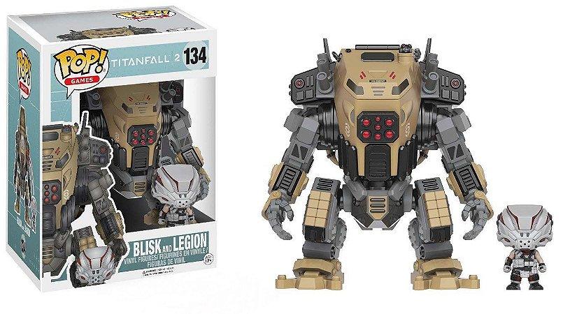 Funko Pop Titanfall 2 134 Blisk e Legion
