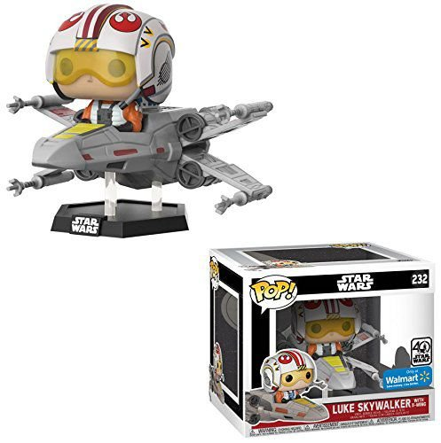 Funko Pop Star Wars 232 Luke Skywalker with X-Wing Exclusive