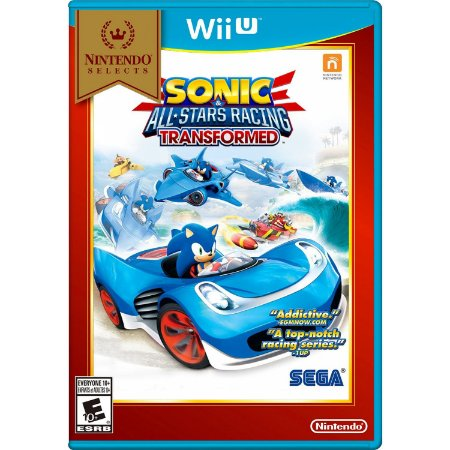 Sonic & All-Stars Racing Transformed - Wii U