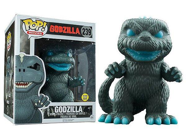 Funko Pop Godzilla 239 Exclusive Supersized Glow in the Dark