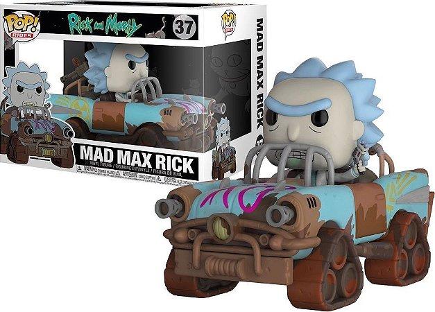 Funko Pop Rick and Morty 37 Mad Max Rick
