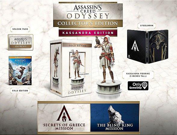 Assassins Creed Odyssey Collectors Kassandra Edition - PS4