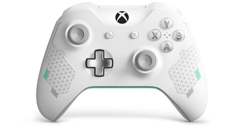 Controle Sem Fio Xbox One Sport White Special Edition Game Games