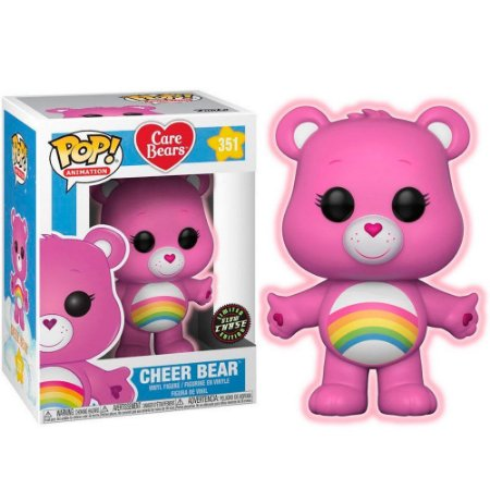 Funko Pop Care Bears 351 Cheer Bear Chase