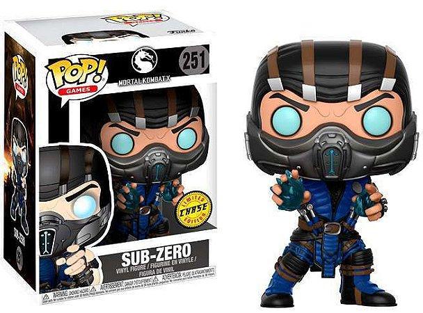 Funko Pop Mortal Kombat 251 Sub-Zero Chase
