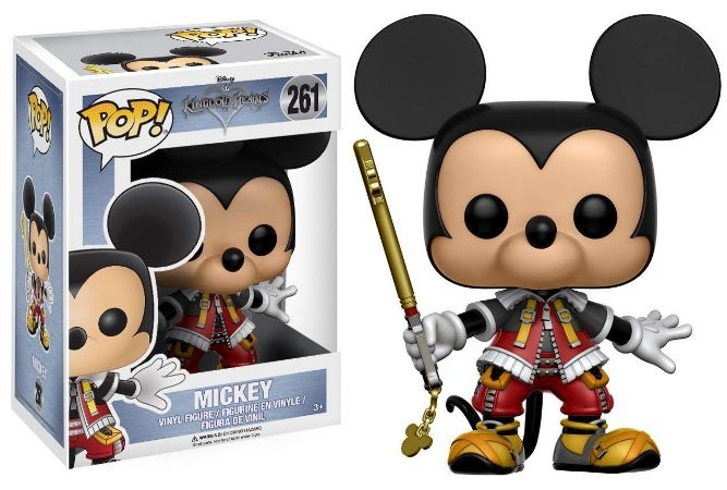 Funko Pop Disney Kingdom Hearts 261 Mickey