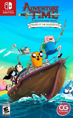 Adventure Time Pirates of the Enchiridion - Switch