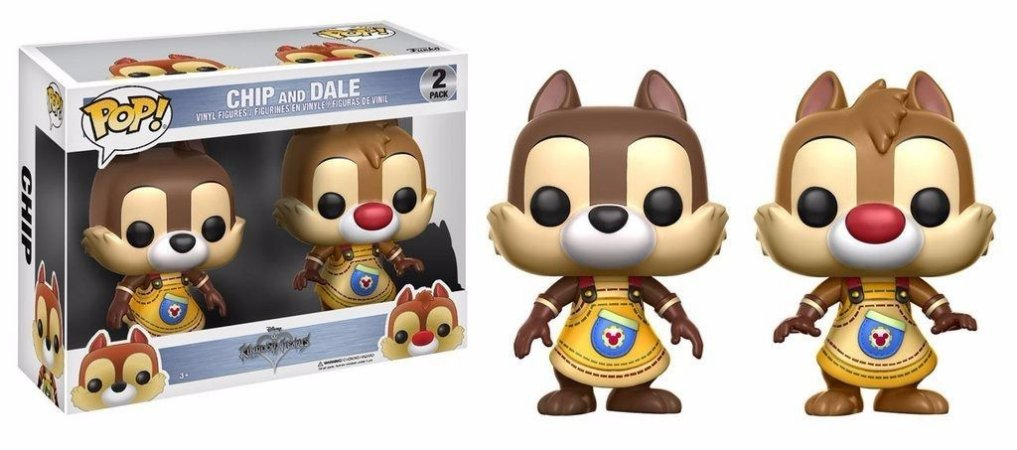 Funko Pop Kingdom Hearts 2 Pack Chip and Dale