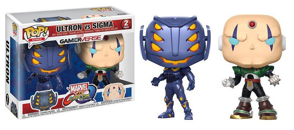 Funko Pop Marvel vs. Capcom 2 Pack Ultron vs Sigma