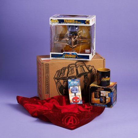 Funko Pop Thanos W/ Sanctuary Marvel Collector Corps Box