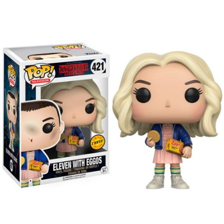 Funko Pop Stranger Things 421 Eleven With Eggos Chase
