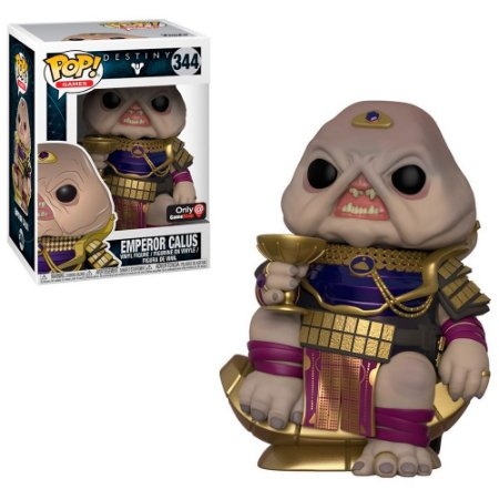 Funko Pop Destiny 344 Emperor Calus Exclusive