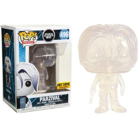 Funko Pop Ready Player One 496 Parzival Colorless Exclusive