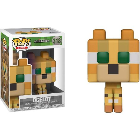Funko Pop Minecraft 318 Ocelot Chase