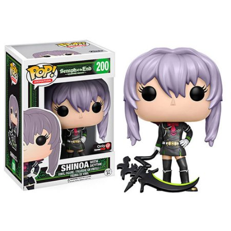 Funko Pop Seraph of the End 200 Shinoa Exclusive