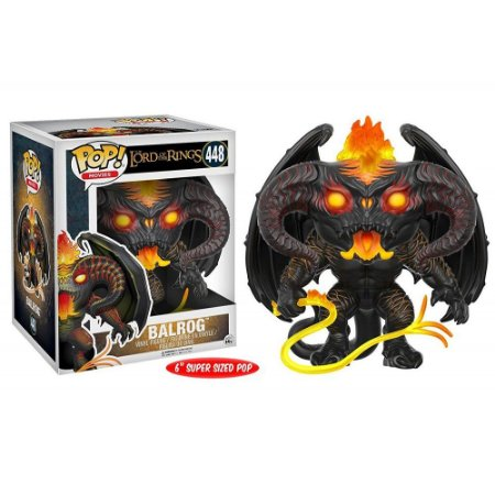 Funko Pop The Lord of the Rings 448 Balrog Super Sized