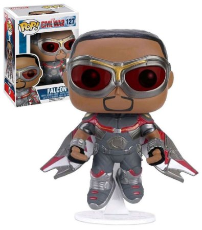 Funko Pop Captain America Civil War 127 Falcon Exclusive