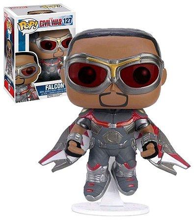Funko Pop Captain America Civil War 127 Falcon Exclusive