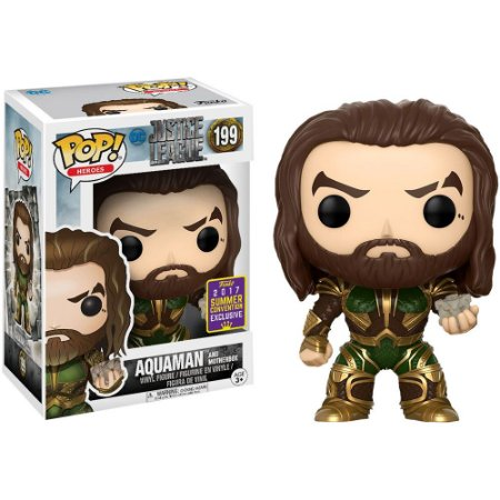 Funko Pop Justice League 199 Aquaman Exclusive