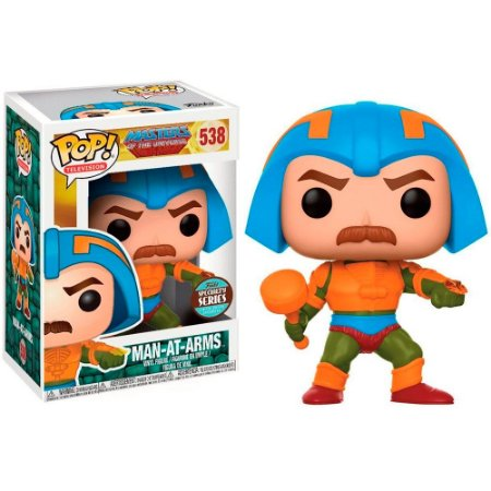 Funko Pop Masters of the Universe 538 Man At Arms Exclusive