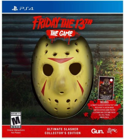 Friday The 13th The Game Ultimate Slasher Collectors Edition - PS4