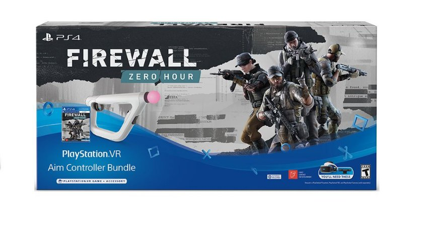 PSVR Aim Controller Firewall Zero Hour Bundle - PS4 VR