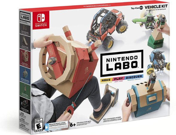 Nintendo Labo Toy-Con 03 Vehicle Kit - Switch