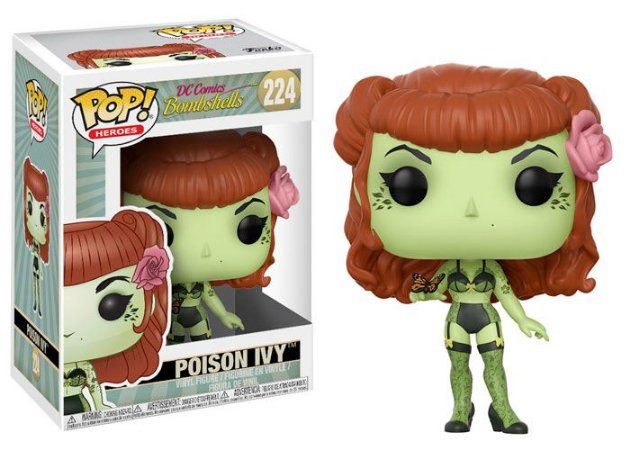 Funko Pop DC Comics Bombshells 224 Poison Ivy