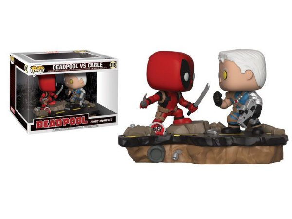 Funko Pop Marvel 318 Deadpool VS Cable