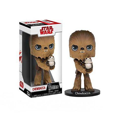 Funko Wobblers Star Wars Chewbacca c/ Porg