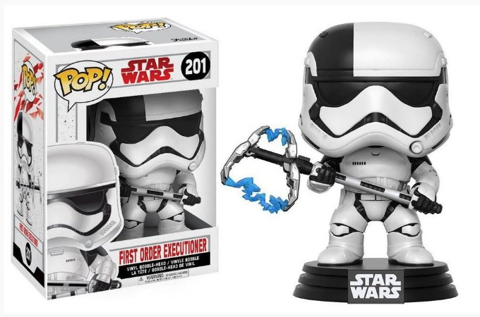 Funko Pop Star Wars 201 First Order Executioner