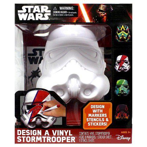 Star Wars Deluxe Design a Vinyl Stormtrooper Play Set