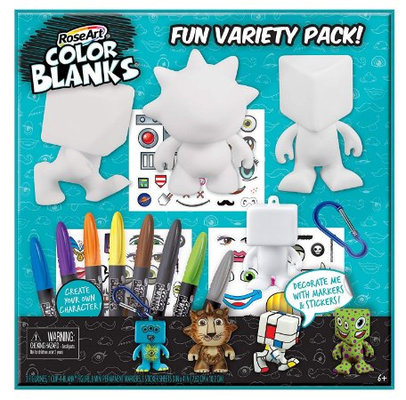 RoseArt Color Blanks Fun Variety Pack Design