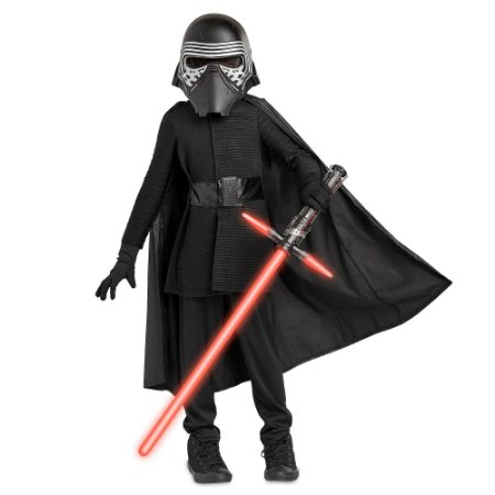 Fantasia Star Wars The Last Jedi Kylo Ren Costume - Infantil