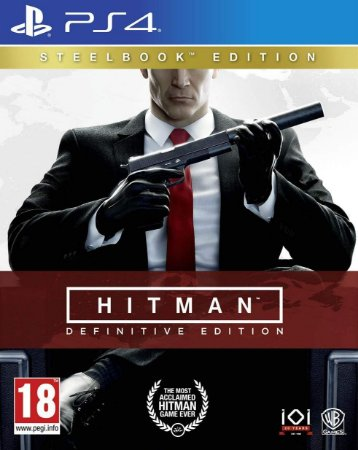 Hitman Definitive Steelbook Edition - PS4