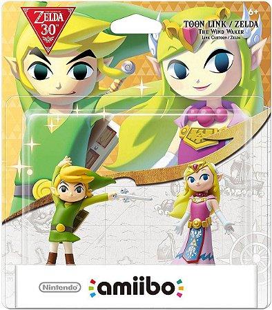 Amiibo Toon Link e Zelda The Wind Waker