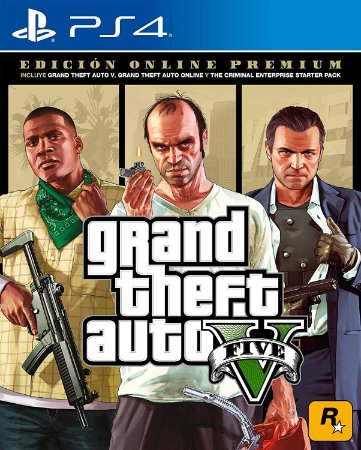 Grand Theft Auto V Premium Online Edition - PS4